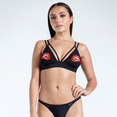 Golddigga Bikini Top pentru Femei