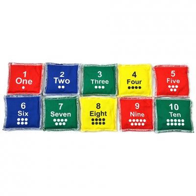 Geanta Gymnastic Numbers 1-10 NO10 sets of 10pcs BBP-C45S10