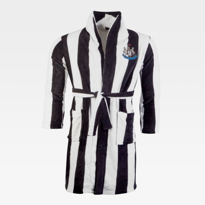 NUFC Striped Bathrobe Juniors