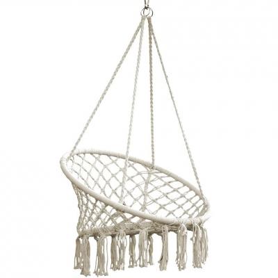 Hammock stork's nest hanging armchair 80x60 cm ecru 1018027