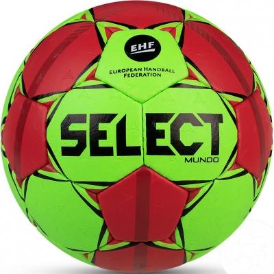 Handball Select Mundo Mini 0 2020 green-red 16695