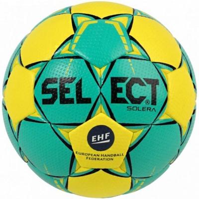 Handball Select Solera Mini 0 EHF 2018 green-yellow 16155