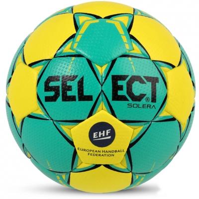 Handball Select Solera Senior 3 EHF 2018 green-yellow 14760