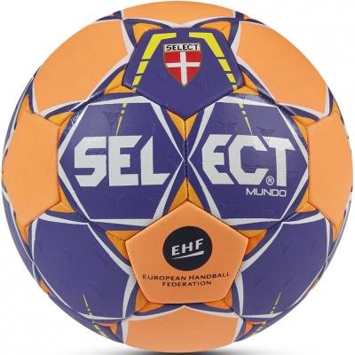 Handball Select Mundo mini 0 violet-orange