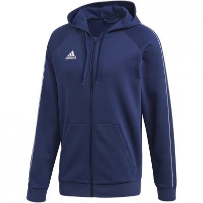 Hanorace Adidas Core 18 FZ navy blue FT8069 adidas teamwear