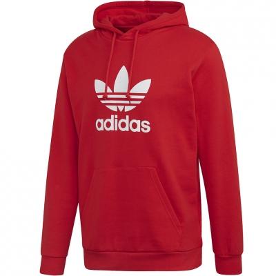Hanorace Adidas Trefoil red FM3783