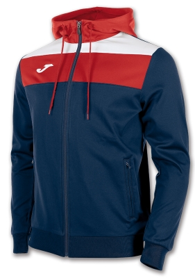 Jachete Crew Hooded Navy-red Joma