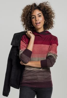 Hanorace Multicolored High Neck pentru Femei Urban Classics