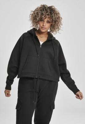 Hanorace Oversized Short Raglan Zip pentru Femei Urban Classics