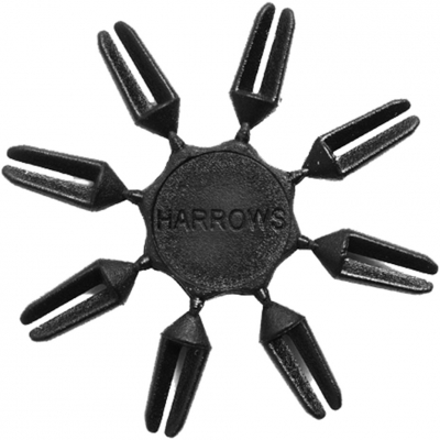 Harrows Flight Savers black overlays