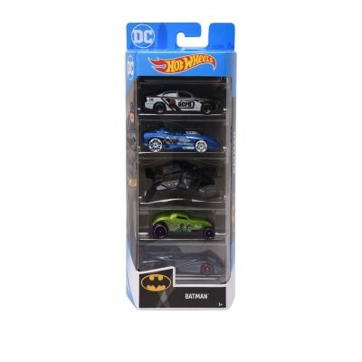 Hot Wheels Batman 5 Pack