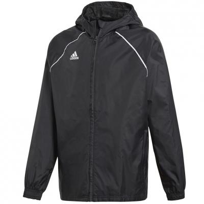 Jachete adidas Core 18 Rain JR black CE9047 adidas teamwear