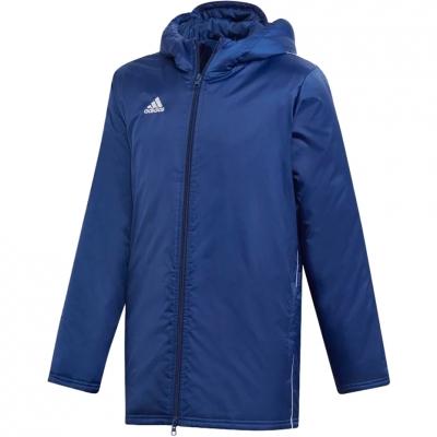 Jachete 's adidas Core 18 Stadium navy DW9198 Junior Copil adidas teamwear