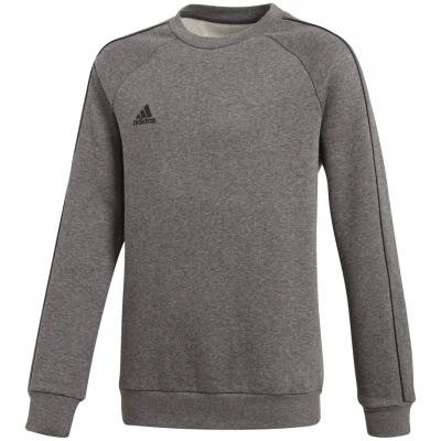 Bluze trening adidas Core 18 JR gray CV3969 adidas teamwear