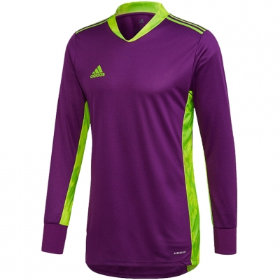 Jachete ' Portar adidas AdiPro 20 Portar Jersey Youth Longsleeve purple-green FI4198 pentru Copil adidas teamwear