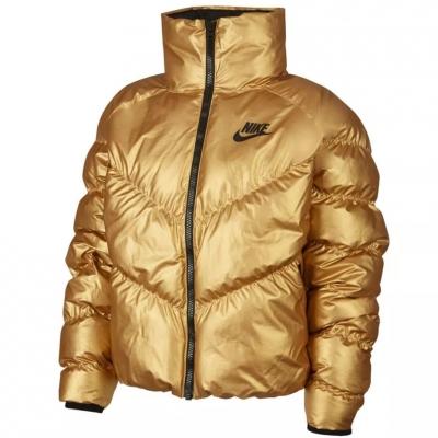 Jachete Nike NSW Syn 's FILL STMT SHINE gold BV3135 707 pentru Femei