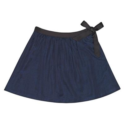 Jack Wills Mautby Bow Detail Twill Mini Skirt
