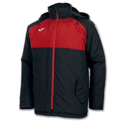 Anorak Andes Black-red Joma