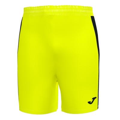 Maxi Short Fluor Yellow-black Joma