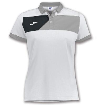 Polo Crew Ii S/s White-grey pentru Femei Joma