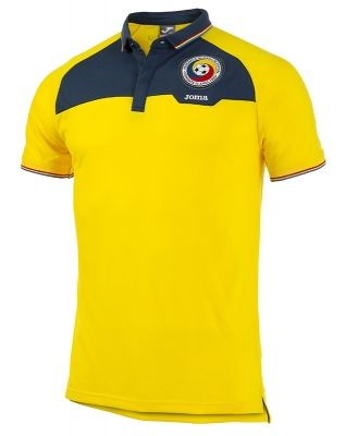 Polo S/s Free Time F.a. Rumania Yellow Joma