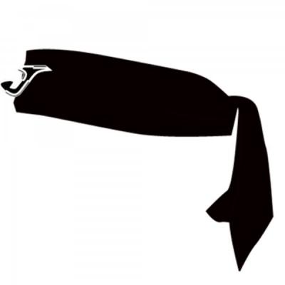 Tennis Black Hair Tape Joma