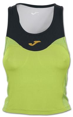 Top Free Green-black Sleeveless pentru Femei Joma