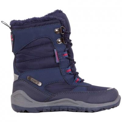 Pantofi sport Kappa Alido Tex 's navy blue 260813K 6760 Copil