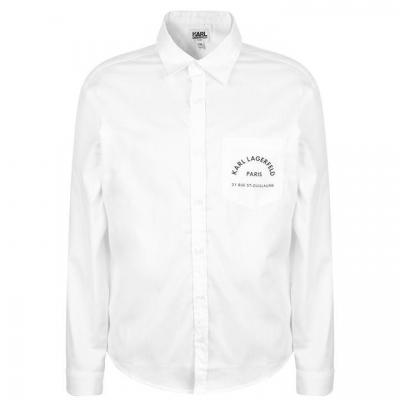 Tricou Karl Lagerfeld Logo Skool Pocket de baieti