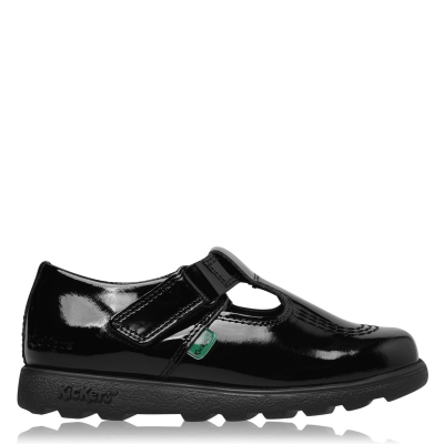Kickers T-Bar Shoe Child de fete