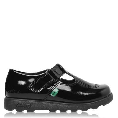 Pantofi sport Kickers Fragma T-Bar de fete Junior