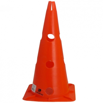Legend cone with holes 38cm red LEGEND SPORT SP. Z O.O.