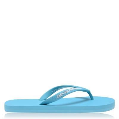 Emporio Armani Underwear Emporio Logo Flip Flops