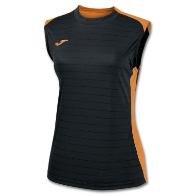Tricouri Volley Black-orange Sleeveless Joma