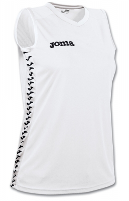 Tricouri Sleeveless Emir White pentru Femei Joma