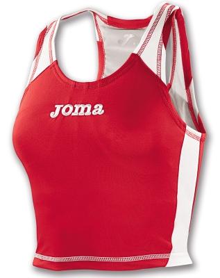 Tricouri Sleeveless Record Red pentru Femei Joma