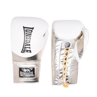 Manusi box pentru lupte Lonsdale L60 Lace din piele