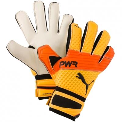 Manusi Portar Puma Evo Power Grip 2.3 RC white-orange-yellow 041222 35