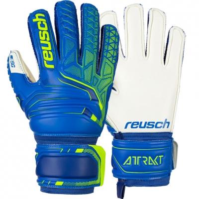 Manusi Portar Reusch Attrakt SG Finger Support blue- white 5072810 4940 Junior