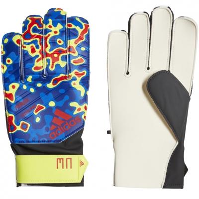 Portar glove adidas Predator Young Pro MN blue yellow red DN8603