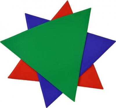 MARKING MARKER SMJ TRIANGLE green VFMN-FLTR
