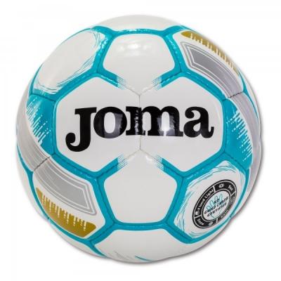 Egeo Soccer Ball White-fluor Turquoise Size 5 Joma