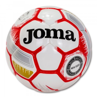 Egeo Soccer Ball White-red Size 4 Joma