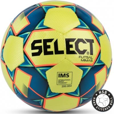 Minge Fotbal Select Futsal Mimas IMS 2018 Hall yellow-blue 14159