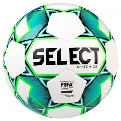 Minge Fotbal Select Match DB FIFA 5 white-green 16682
