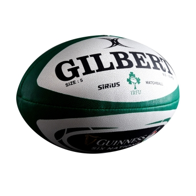 Gilbert Ireland 6 Nations Rugby Ball