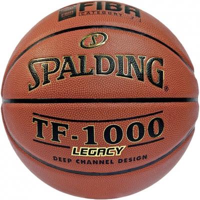 Minge Baschet Ball Spalding TF-1000 Legacy Fiba brown 74451Z