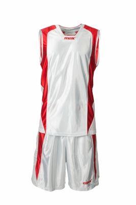 Set baschet Nairobi Bianco Rosso Max Sport pentru baschet