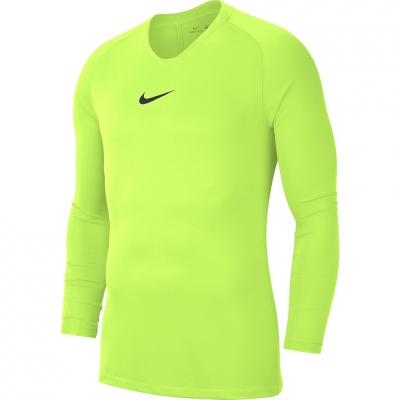 Tricou Nike Dry Park First Layer JSY LS lime AV2609 702