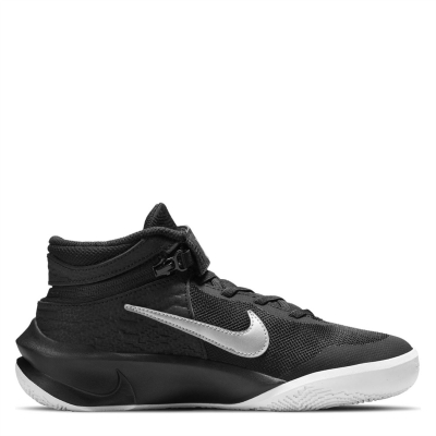 Nike Team Hustle D 10 FlyEase Big Basketball Shoe pentru Copil